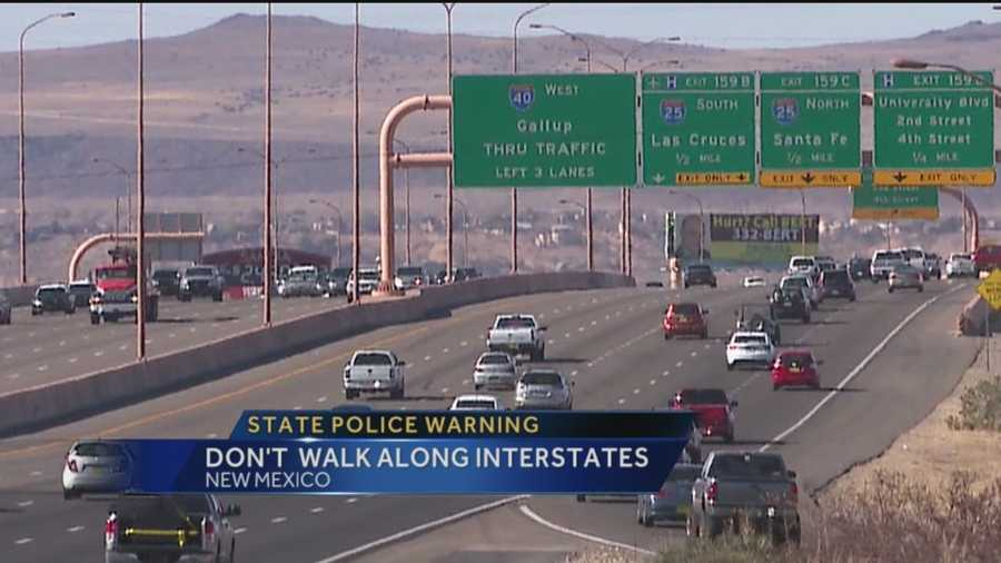 The holidays can create dangerous situations on New Mexico interstates. Action 7 News anchor Royale Da explains why pedestrians and drivers are at risk.