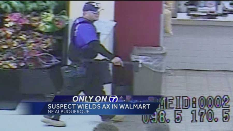 Albuquerque police have released video of a man shoplifting at Walmart on Eubank Boulevard on Dec. 11.