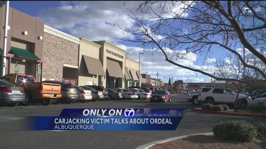 A woman was car-jacked at uptown mall today.