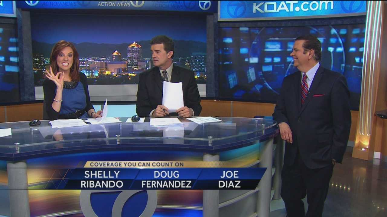 Nine members of the Action 7 News team filled out Oscars' ballots in six major categories, and Chief Meteorologist Joe Diaz took home first place.