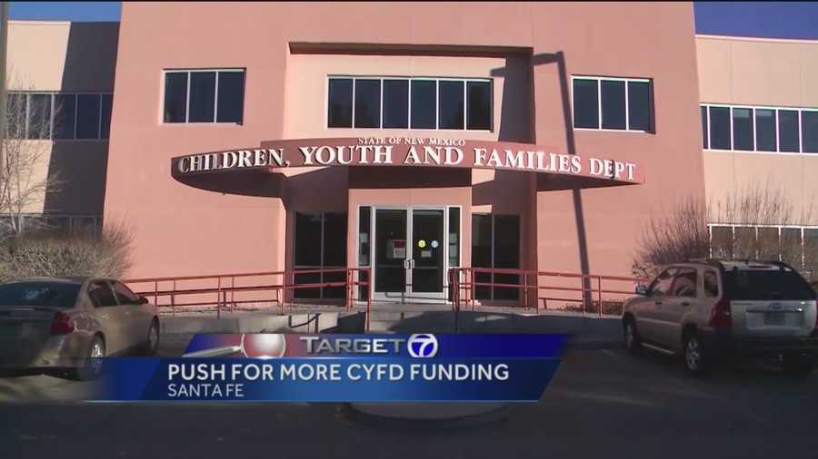 A state agency that looks after New Mexico's children is scrambling for more funding and getting a lot of support.
