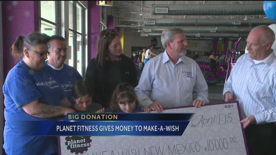 Wishes will come true for some New Mexican families thanks to the Make-A-Wish Foundation and Planet Fitness.