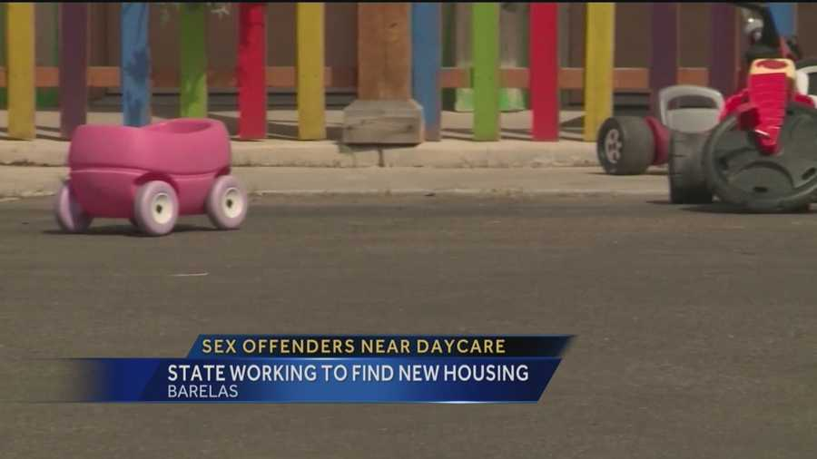 Some Albuquerque families say their children are not safe because sex offenders live down the street. They have been fighting to keep them out of the neighborhood for months.