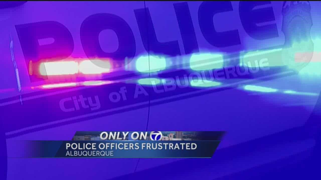 For the first time Albuquerque Police Officers who patrol the streets are talking about concerns with the counties justice system.