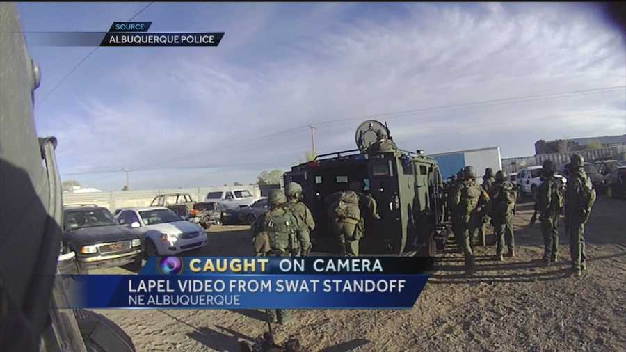 It's been more than a year since a burglary suspect barricaded himself inside a trailer at a tow yard.