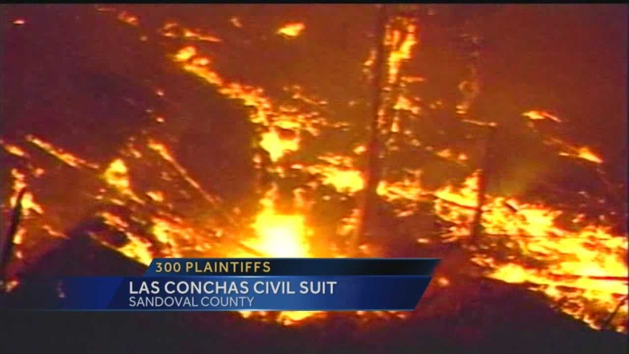 The civil trial involving the Las Conchas wildfire began Thursday.