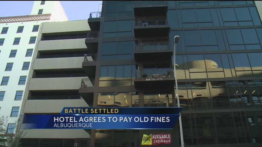 The Hotel Andaluz and the city of Albuquerque finally reached a deal over parking.