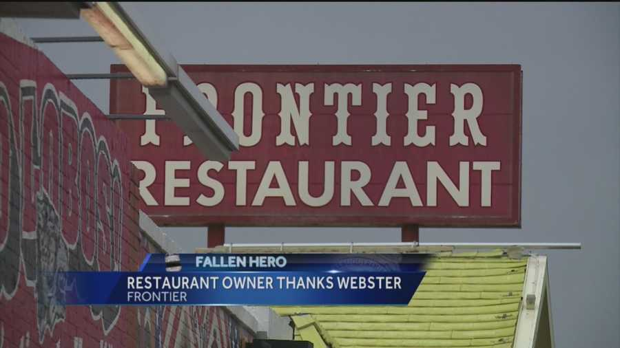 Frontier owner Dorothy Rainosek says she was saddened to hear about the death of an Albuquerque police officer this week, an officer who used to frequent her restaurant.