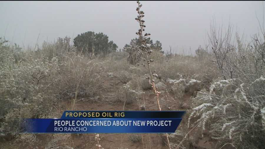 People in Rio Rancho might be getting a new neighbor, an oil rig, and they're not happy.
