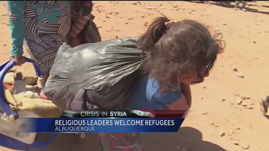 Religious leaders welcome refugees