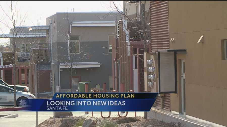 Santa Fe is exploring new ideas to make housing more affordable to its residents.