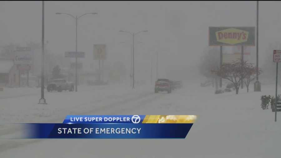 Those wishing for a white Christmas in New Mexico perhaps got more than they bargained for this weekend when a massive winter storm slammed the southeastern part of the state, shutting down Interstate 40's eastbound lanes from Albuquerque to the Texas state line.