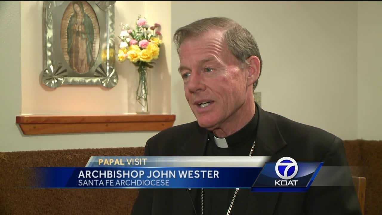 Pope Francis will give a mass in Juarez later this week, and Santa Fe Archbishop John Wester believes he will address the city's history of violent crimes.