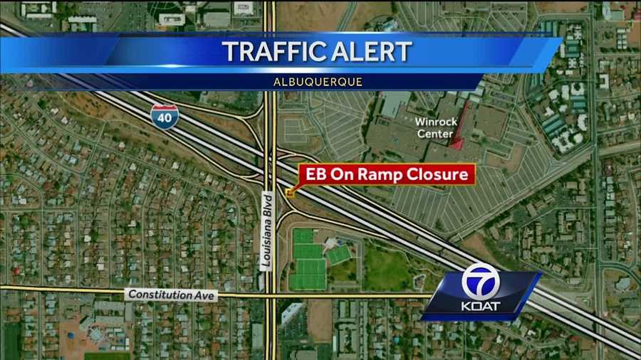 A major road closure in albuquerque could impact your morning commute today and the rest of the week.