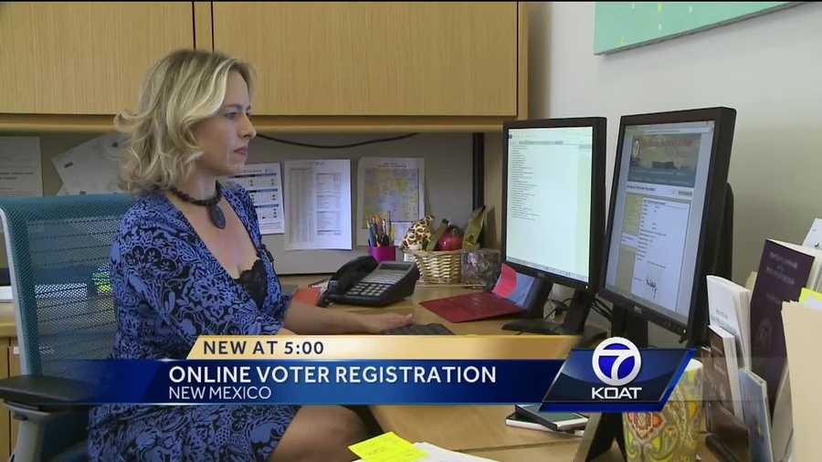 It's been nearly four months since New Mexico took voter registration online.