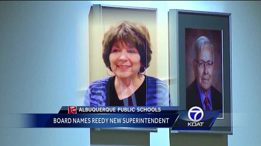 New this morning, Albuquerque public schools has a new leader.