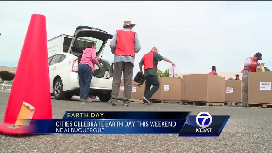Cities around NM are celebrating Earth Day this weekend.
