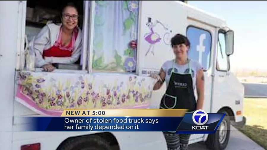 A restaurant owner wants you to keep an eye out for her food truck that was stolen.