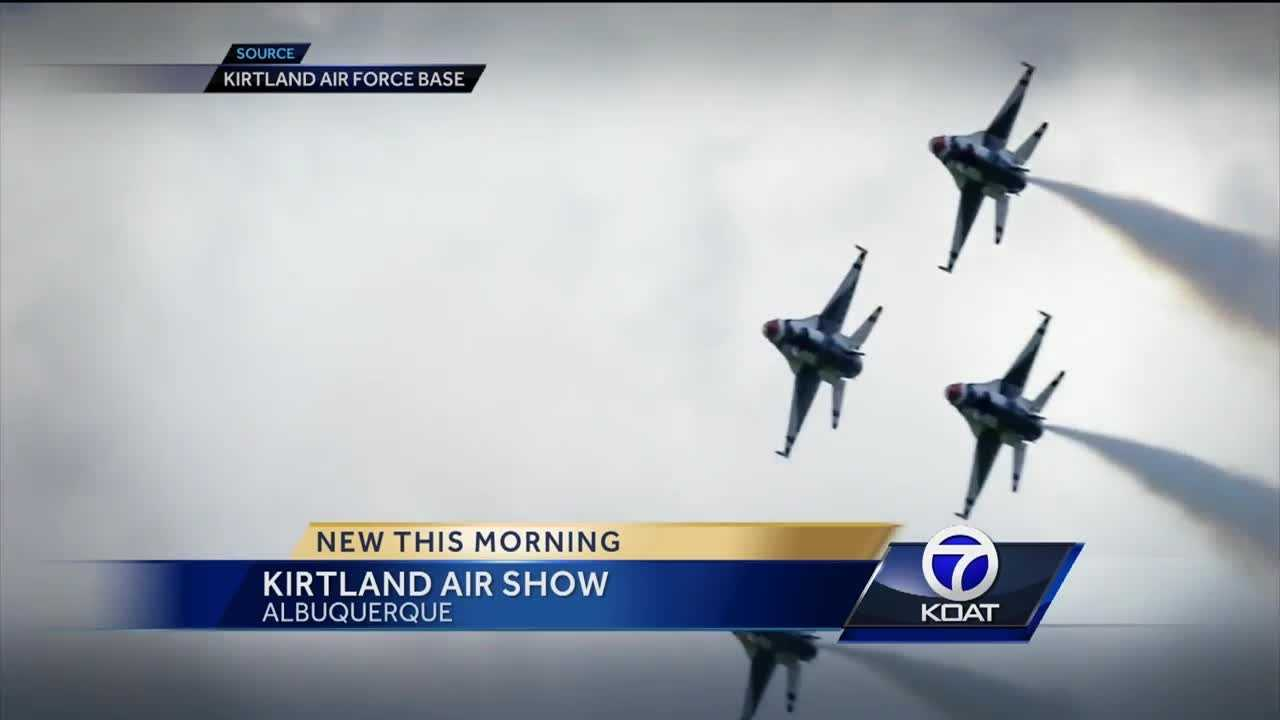 Thousands of people are expected to make their way to Kirtland Air Force base this weekend for the air show.