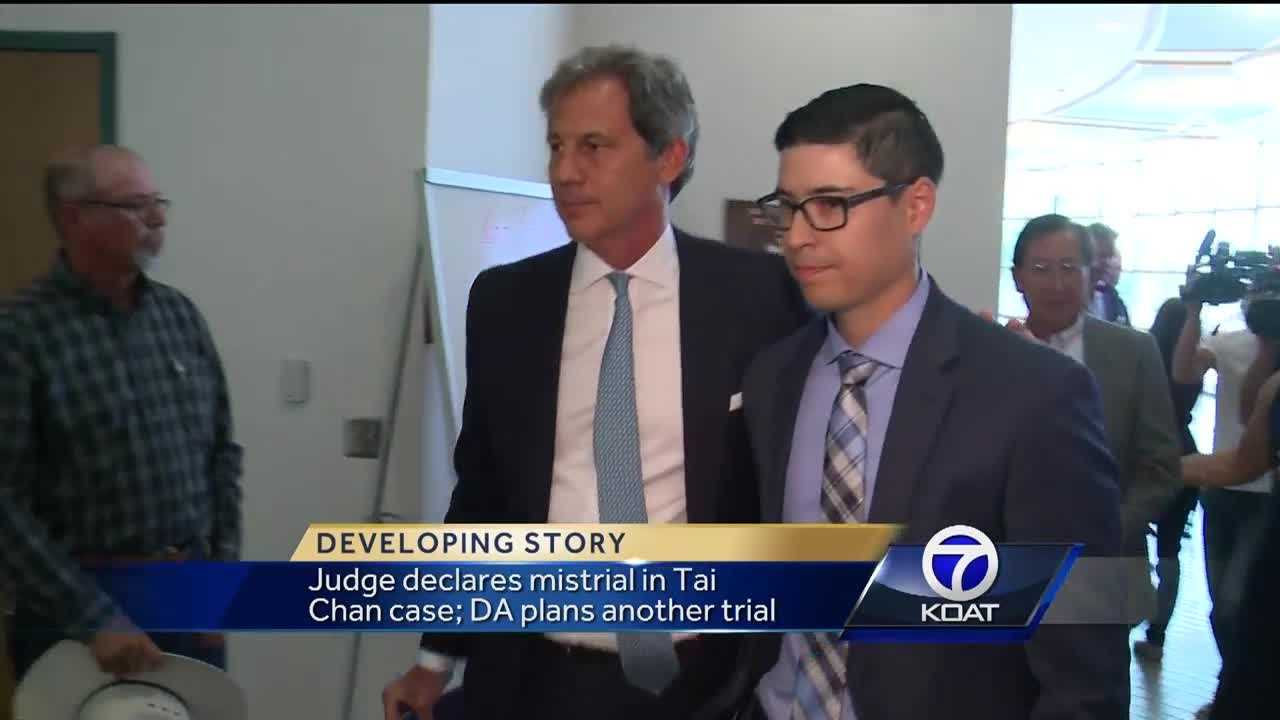 Judge declares mistrial in Tai Chan case: DA plans another trial.