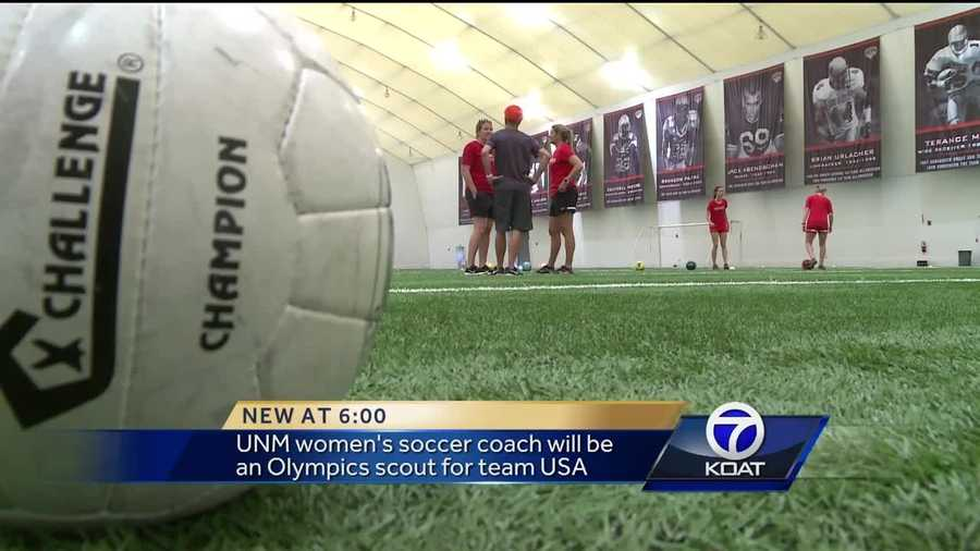 The Olympics came calling for a Lobos coach. She's going to try to help the world-cup winning women's soccer team follow that championship with a gold medal.