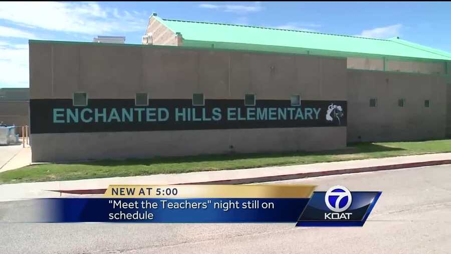 Parents are frustrated that the school year has been delayed by three days at Enchanted Hill Elementary School in Rio Rancho.