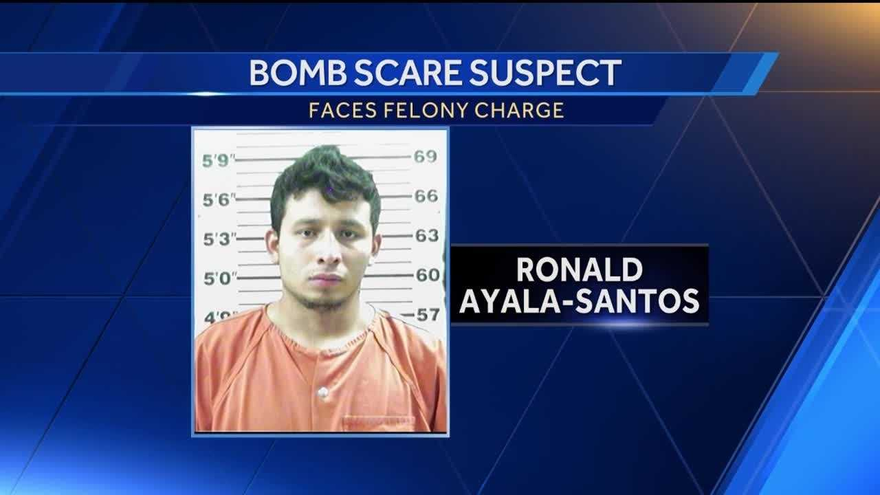 Santa Fe Police said this isn't the first time Ayala-Santos has pulled a hoax, investigators said he's facing eleven charges relating to lying to police.