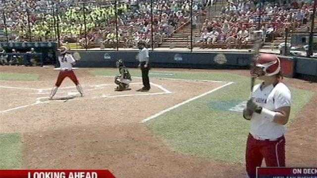 The best in college softball gather in Oklahoma City.