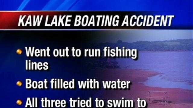 One man is dead Tuesday and another missing after a boating accident in northern Oklahoma.