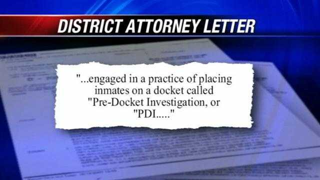 Oklahoma County DA David Prater sent a letter to the state pardon and parole board, accusing its members of violating the Open Meetings Act in an attempt to release prisoners early.