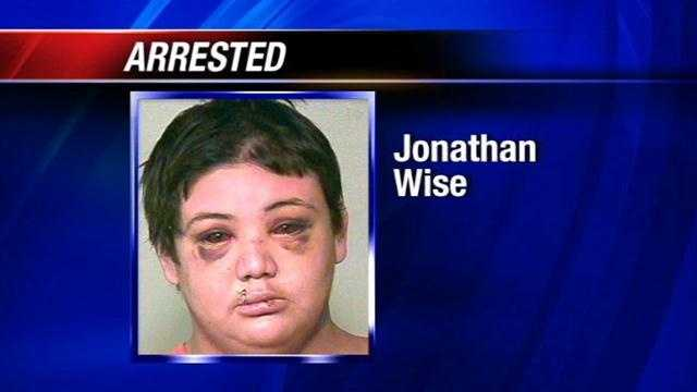 Officers arrested Jonathan Wise