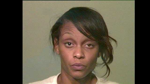 Britney Hamilton, 27, was arrested on suspicion of shoplifting after an employee saw her and her 10-year-old daughter stuff merchandise into a purse. Find out how much merchandise by clicking here.