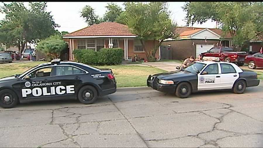 A man is arrested after a short standoff in Southwest Oklahoma City.  Police say the man opened fire inside his home.