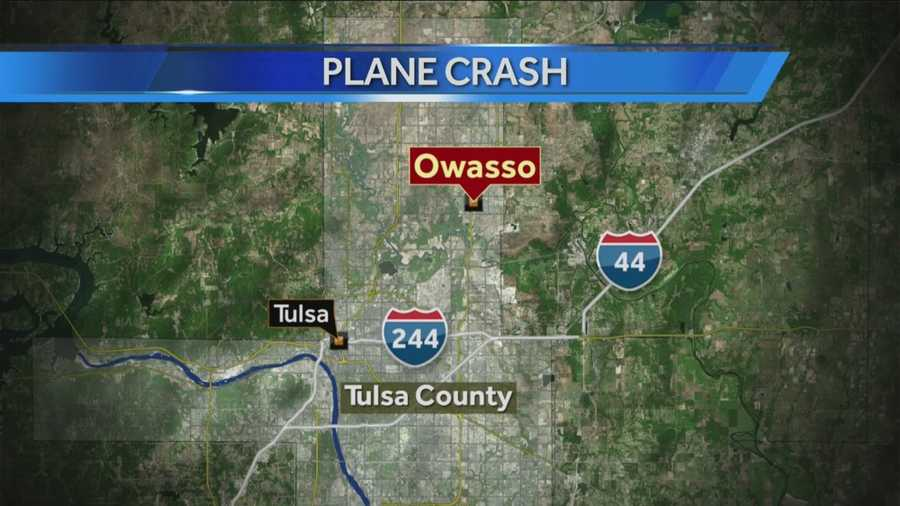Authorities with the Oklahoma Highway Patrol confirmed it investigated a plane crash in Owasso Sunday that left one person dead.