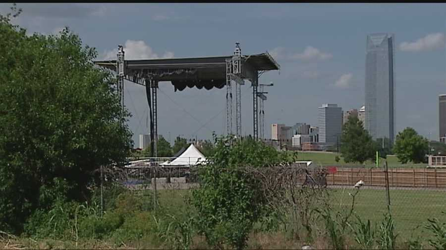 Neighbors are concerned about concerts held at Air Park.