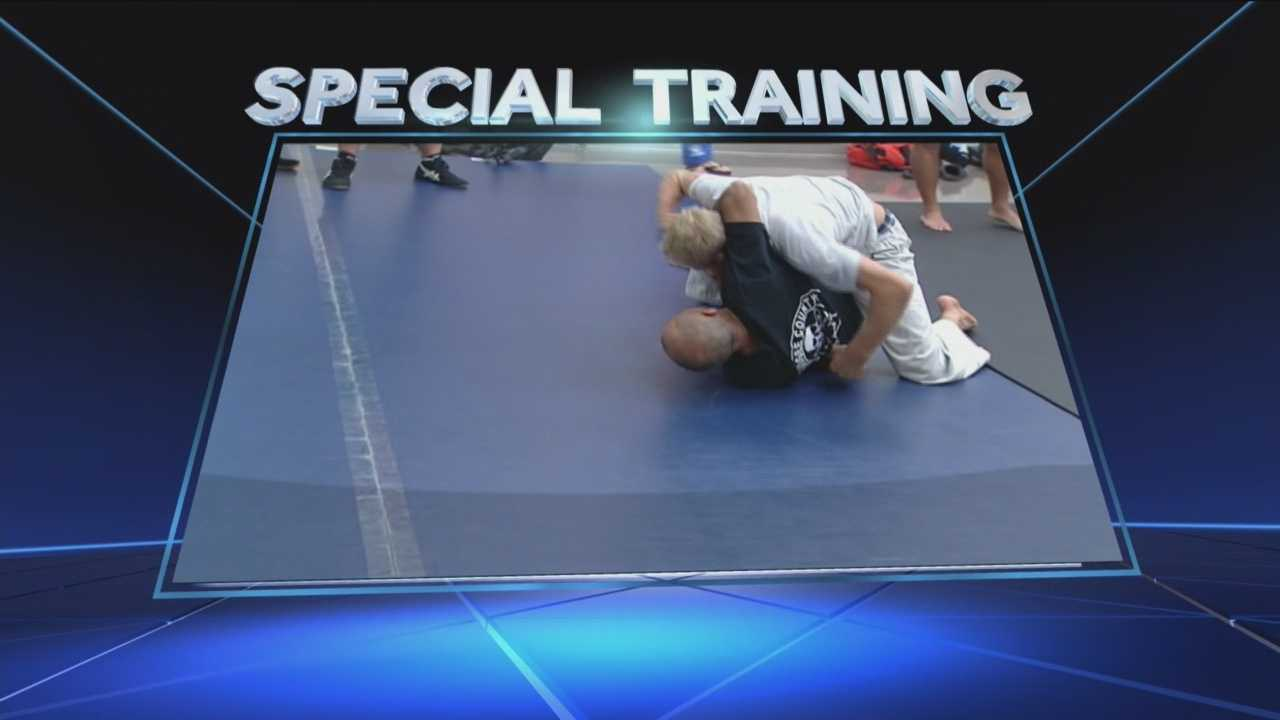Law enforcement gets some special training from a UFC fighter.