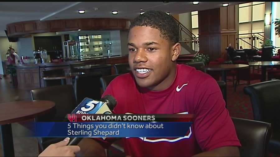 Five things you didn't know about Oklahoma Wide Receiver Sterling Shepard.