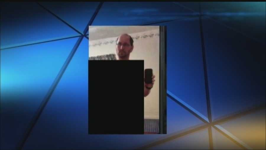 The chief said children got access to his former girlfriend's phone and stole the picture.