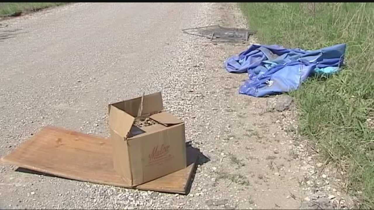 Canadian County deputies said they have found 400 illegal dumping sites just this year.