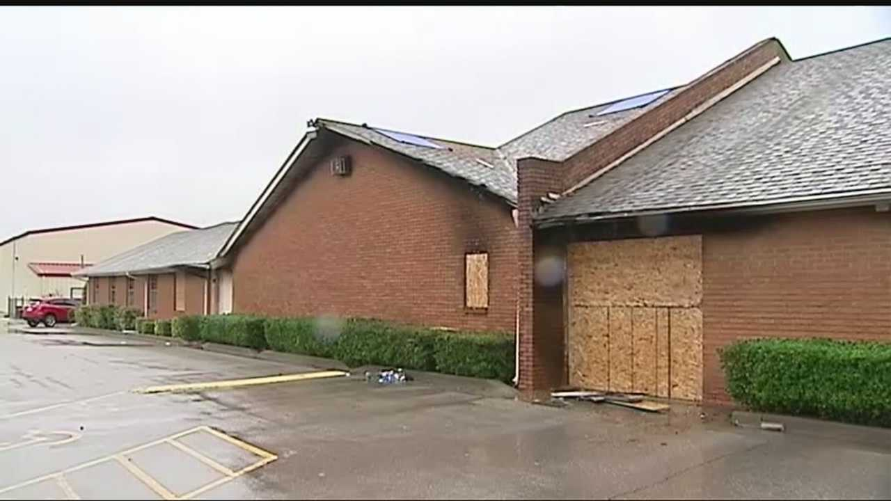 A Midwest City church set on fire Friday morning is gearing up to have its first Sunday service since its building was damaged.