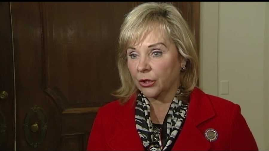 Gov. Mary Fallin spoke about what the recent increase in earthquakes around Oklahoma.