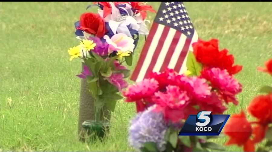 Metro Boy Scouts helped honor fallen heroes by handing out American flags to veteran's families on Memorial Day at Rose Hill Burial Park.