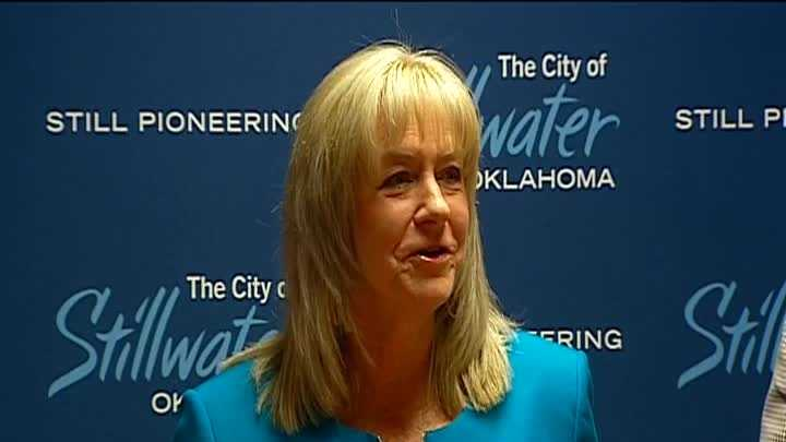 Stillwater mayor Gina Noble addressed her recent breast cancer diagnosis on Wednesday.