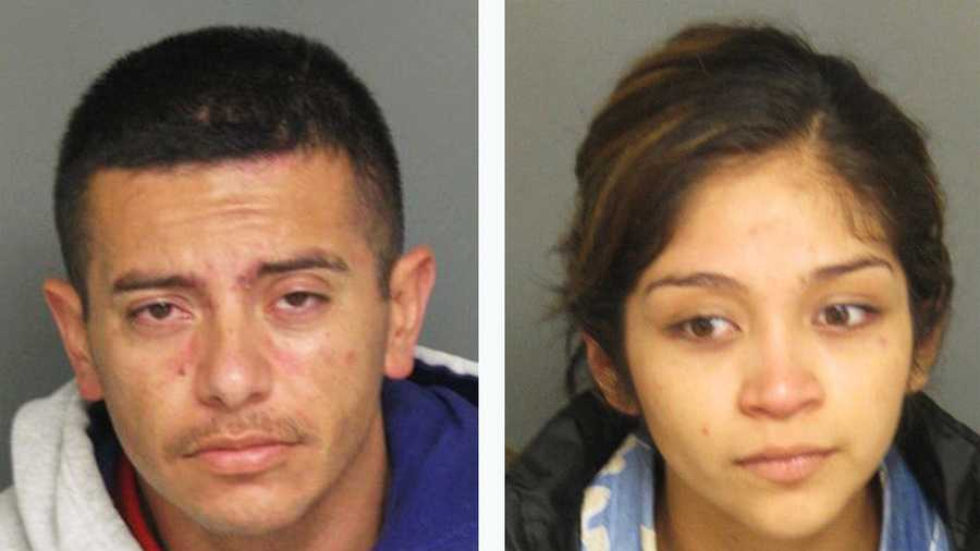 Jesse Sanchez and Amparo Negrete are seen in police mug shots.
