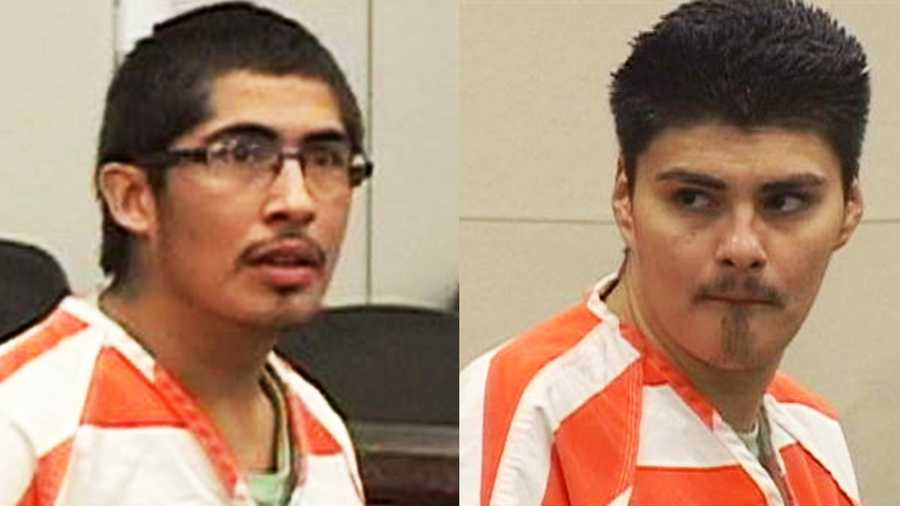 Juan Manuel Salazar Jr., 19, of San Ardo, (left) and Enrique Lopez, 23, of King City, are charged with murdering two men on July 28 in San Ardo.