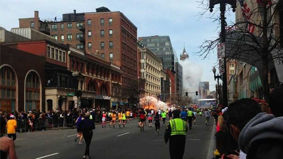 Boston Marathon explosion (April 15, 2013)