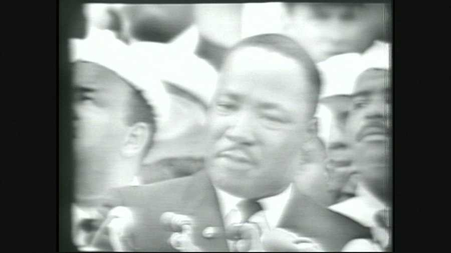 In Seaside, the NAACP of Monterey County organized a screening of the 'I Have a Dream' speech.