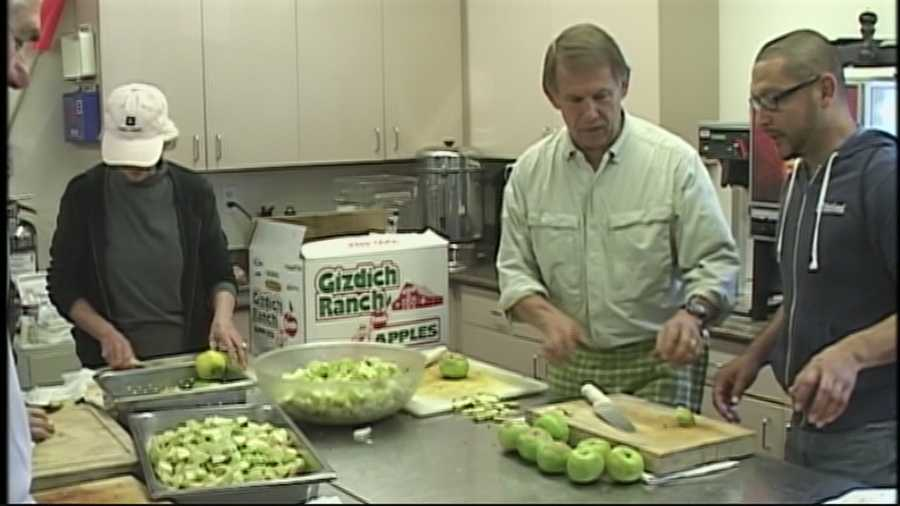 Volunteers are busy preparing Thanksgiving feasts at several nonprofits.
