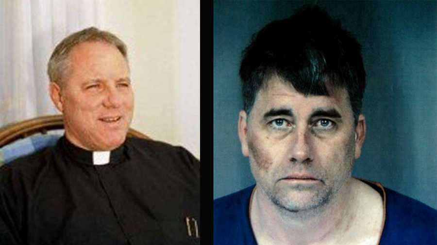 Gary Lee Bullock, right, is accused of killing the Rev. Eric Freed, left.
