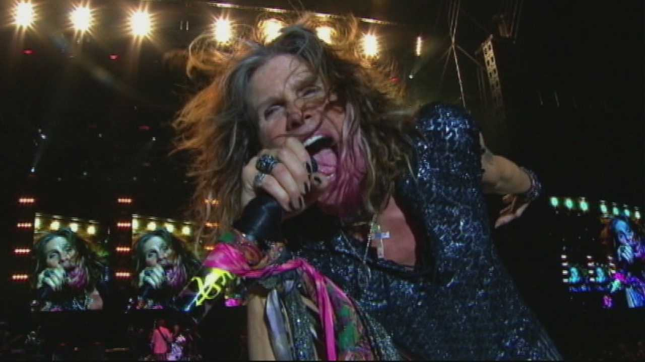 Action News Eight has learned that legendary rock band, Aerosmith will be kicking off the 2015 California Rodeo Salinas.  Action news reporter Lauren Seaver has more on the huge announcement that you'll only see on Action News.